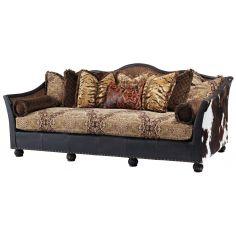 Great looking wild west sofa