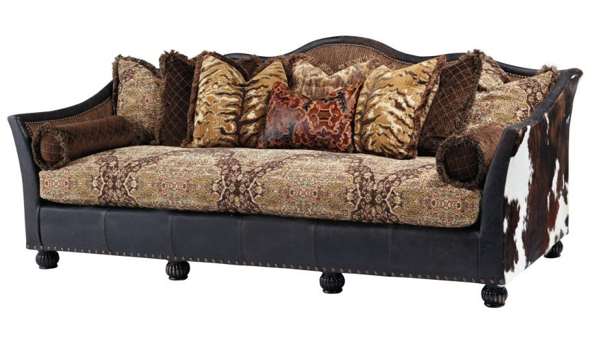 Luxury Leather & Upholstered Furniture Great looking wild west sofa