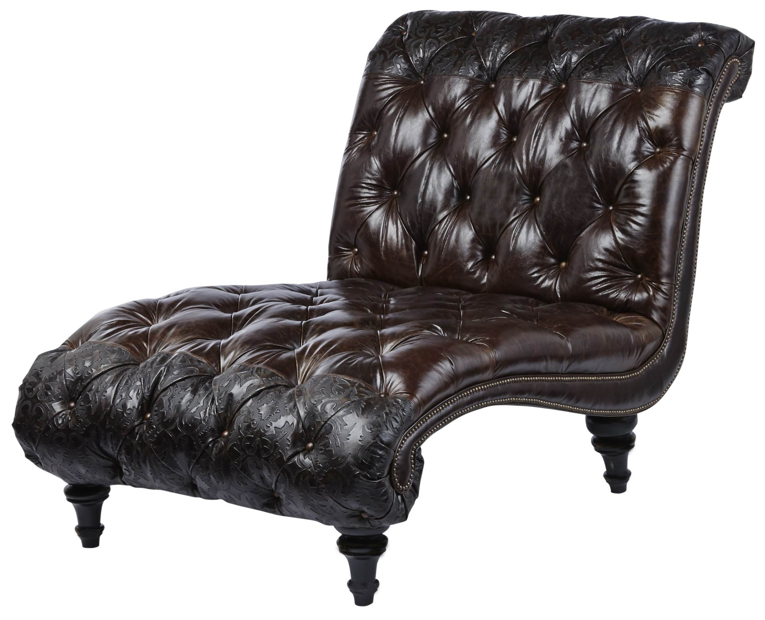 Gorgeous Tufted Chaise Lounge
