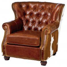 Unique western style arm chair