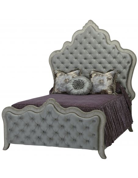 BEDS - Queen, King & California King Sizes Elegant styling of this princess bed