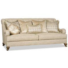 Valentine sofa with eclectic farics