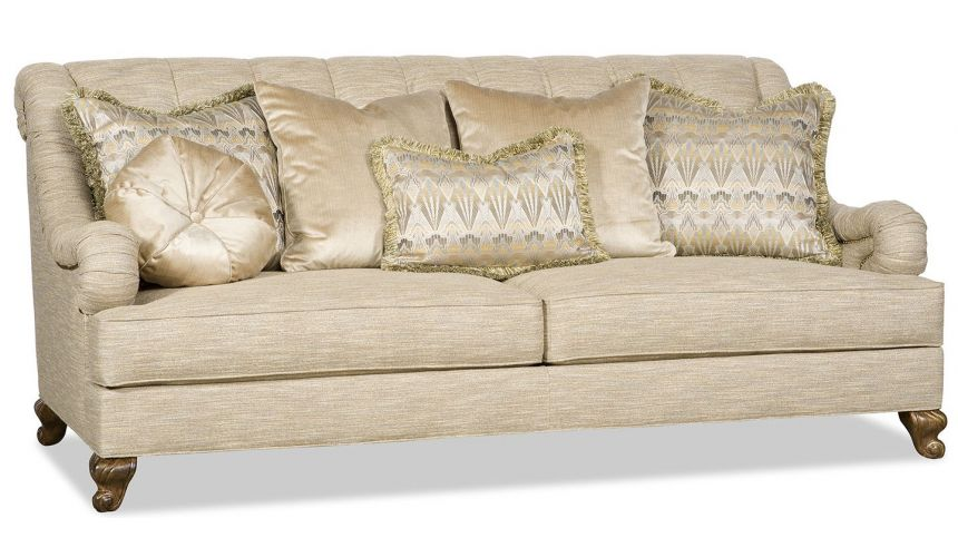 SOFA, COUCH & LOVESEAT Valentine sofa with eclectic farics