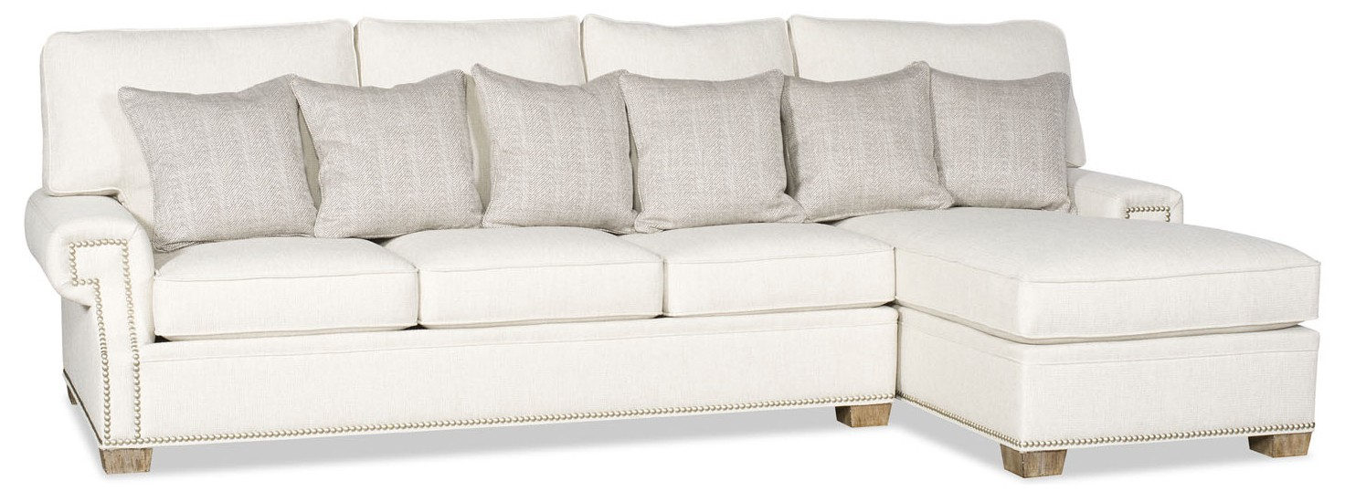 Long And Straight Sectional With Chaise
