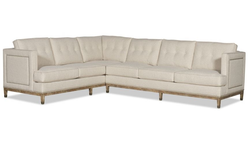 SECTIONALS - Leather & High End Upholstered Furniture Luxury metropolitan sectional sofa