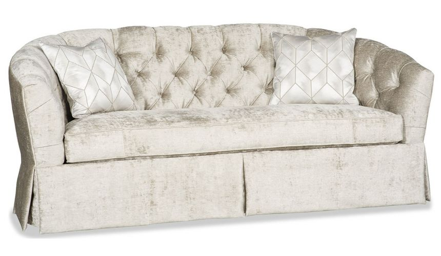SOFA, COUCH & LOVESEAT Luxurious ivory sofa