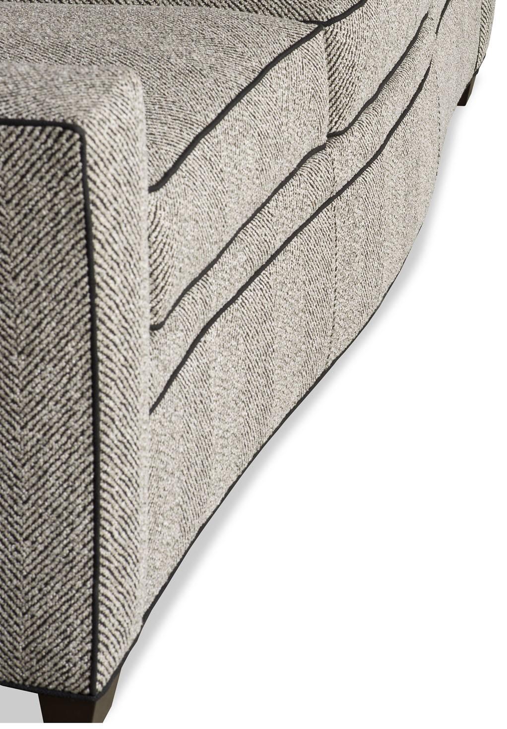 Modern Herringbone Sofa