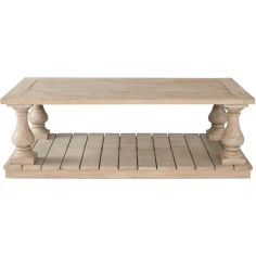 Traditional Slatted Table