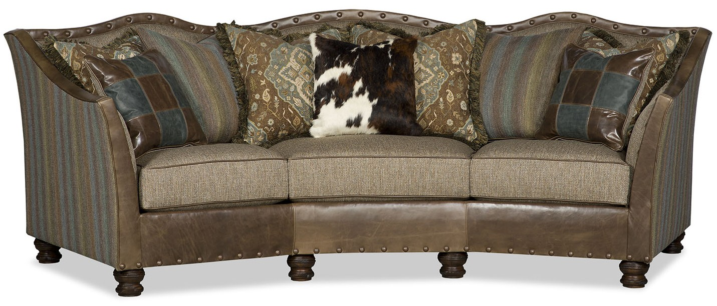 Luxury Leather U0026 Upholstered Furniture Stylish Conversation Sofa
