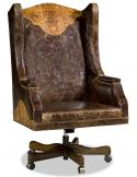 Grand western style desk chair