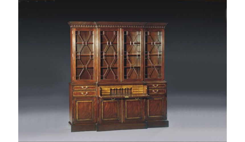 Breakfronts & China Cabinets High End Dining Room Furniture Breakfront