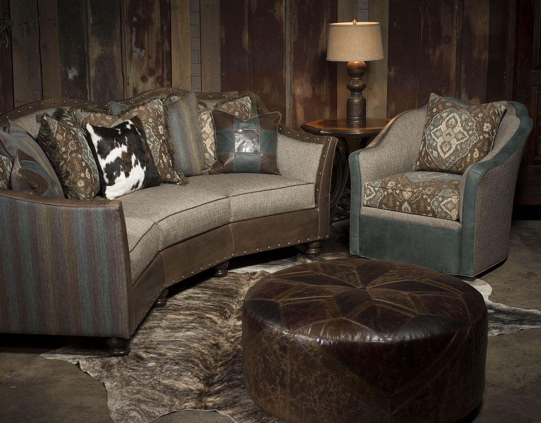 Stylish conversation sofa