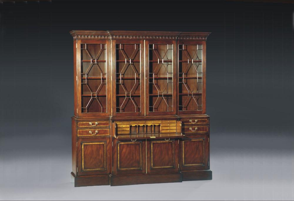 breakfronts china cabinets high end dining room furniture breakfront