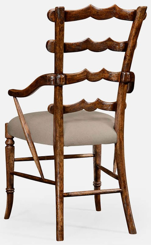 Dining Chairs Ladderback Armchair Different 2