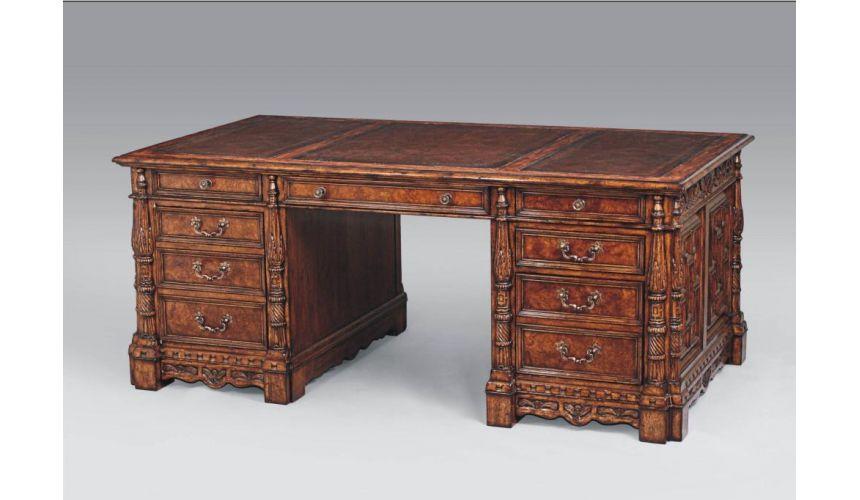 Executive Desks Library & Office Furniture Partners Desk