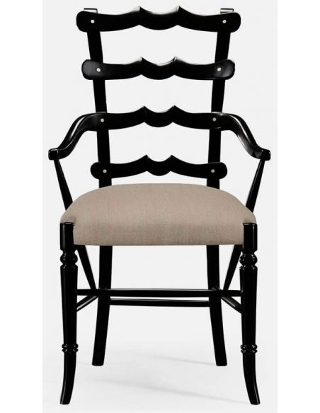 Dining Chairs Ladderback armchair