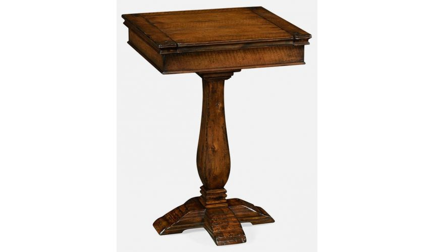 TABLES - SIDE, LAMP & BEDSIDE Stand heavy distress
