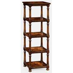 Oyster five-tier etagere