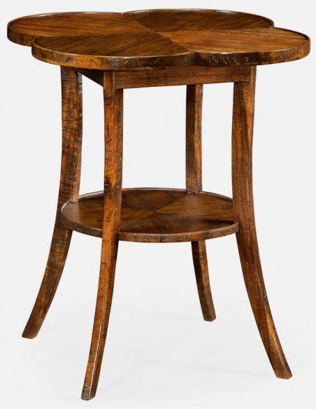 TABLES - SIDE, LAMP & BEDSIDE Quatrefoil lamp table