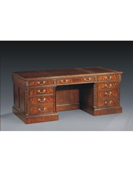 Executive Desks High End Library & Office Furniture Writing Desk