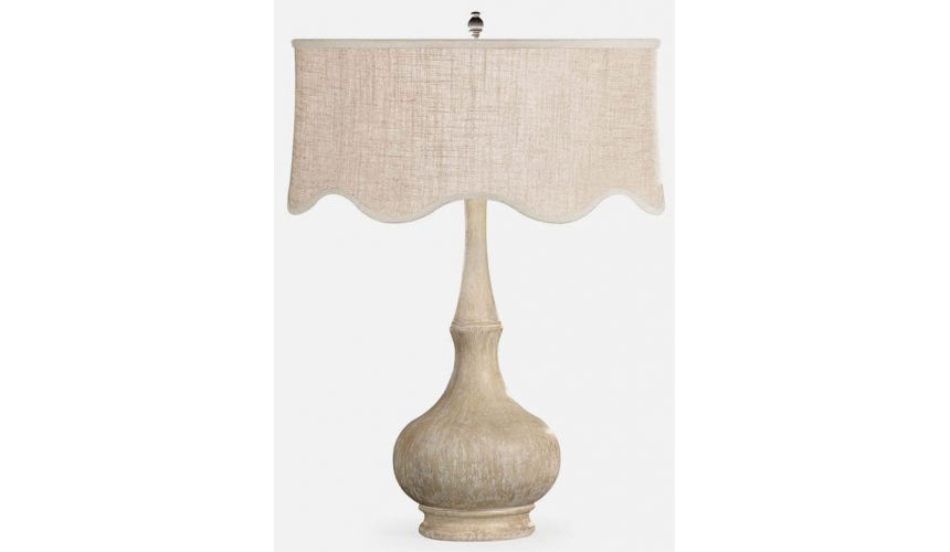 Table Lamps Limed table lamp