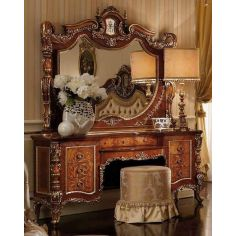 Luxury makeup vanity. Furniture masterpiece collection.