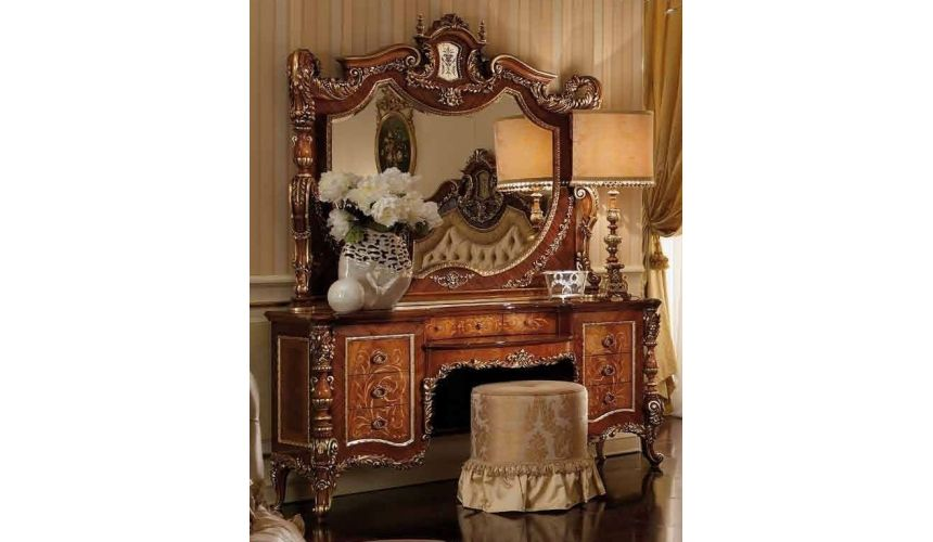LUXURY BEDROOM FURNITURE Luxury makeup vanity. Furniture masterpiece collection.