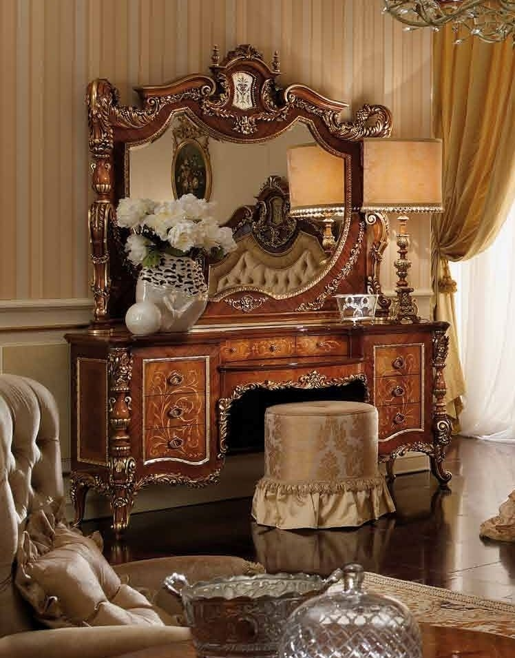 Luxury makeup vanity furniture masterpiece collection for Luxury furniture