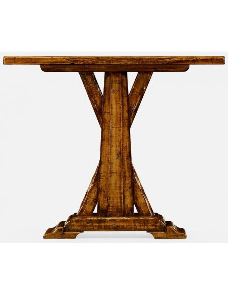 TABLES - SIDE, LAMP & BEDSIDE Country walnut side table