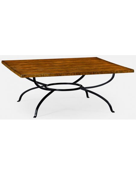 Coffee Tables Country walnut coffee table