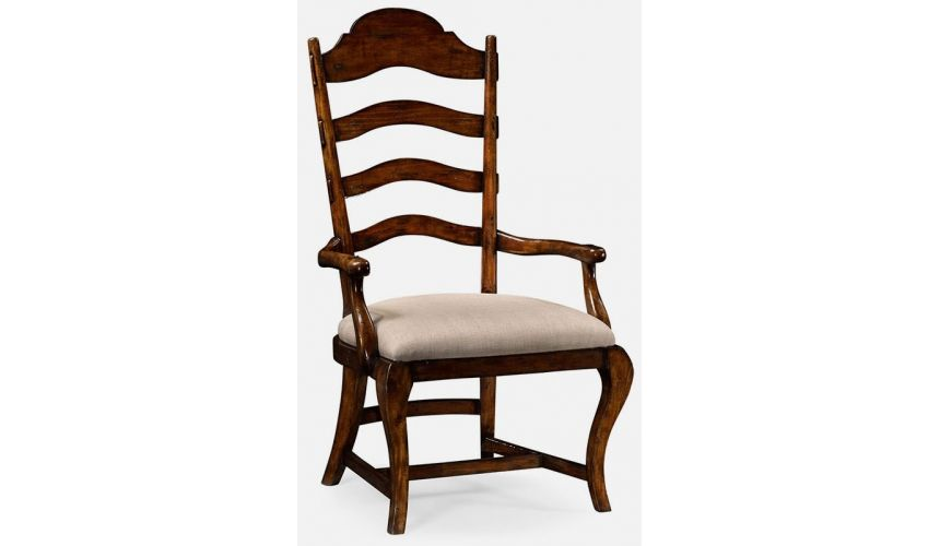 Dining Chairs Rustic dining armchair