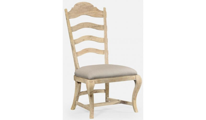 Dining Chairs Limed dining side chair