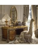 Luxury makeup vanity with mirror fit for a true queen or princess.