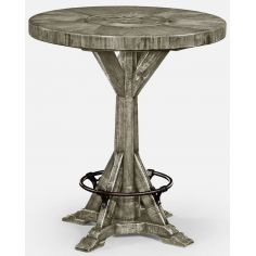 Bar table rustic grey