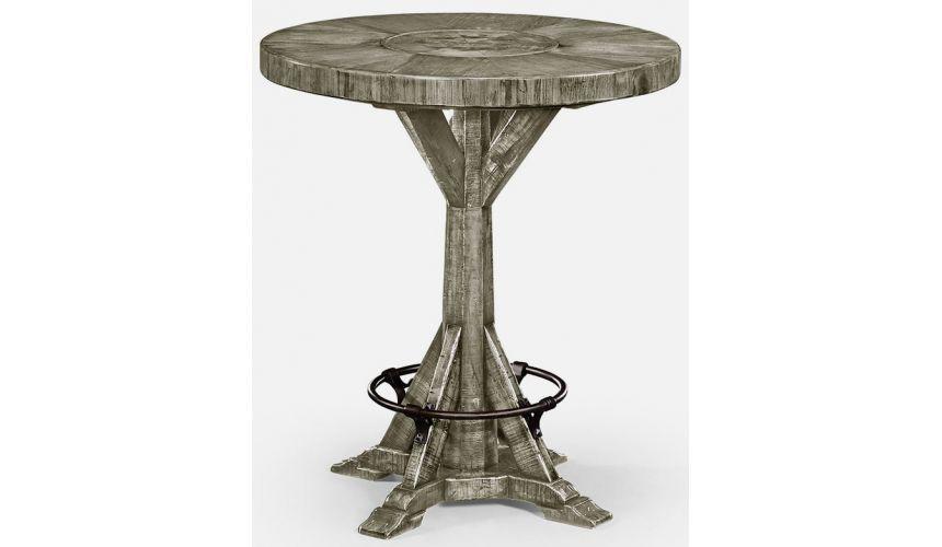 Upscale Bar Furniture Bar table rustic grey