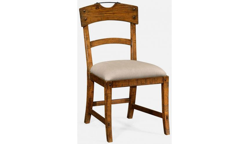 Dining Chairs Country walnut side chair