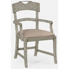 Armchair upholstered seat