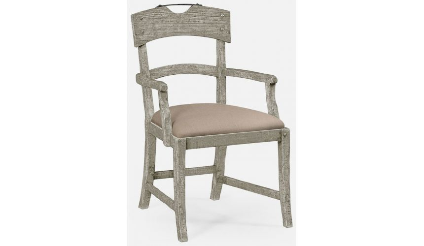 Dining Chairs Armchair upholstered seat