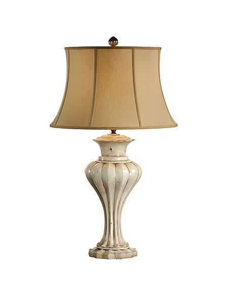 Lighting Pillar Look Urn Lamp