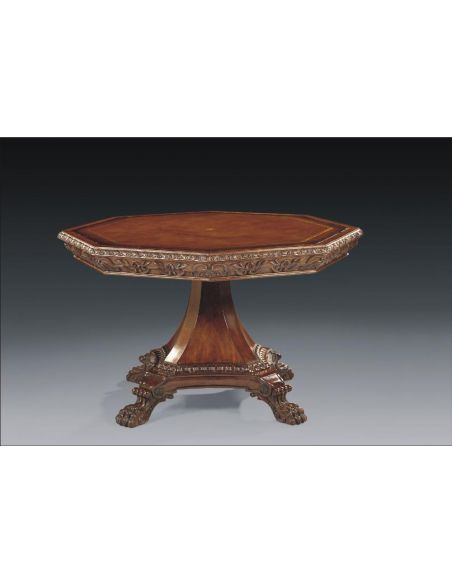 Foyer and Center Tables High Quality Furniture Octagonal Center Table