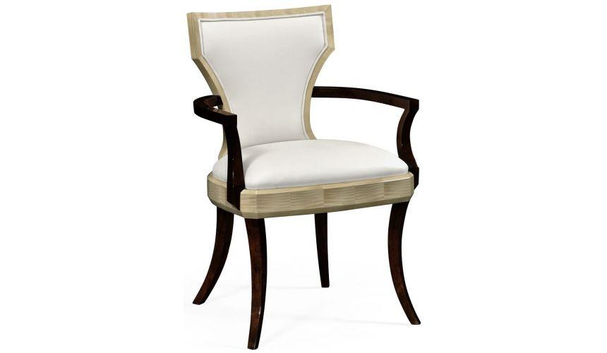 Dining Chairs Opera Art Deco armchair