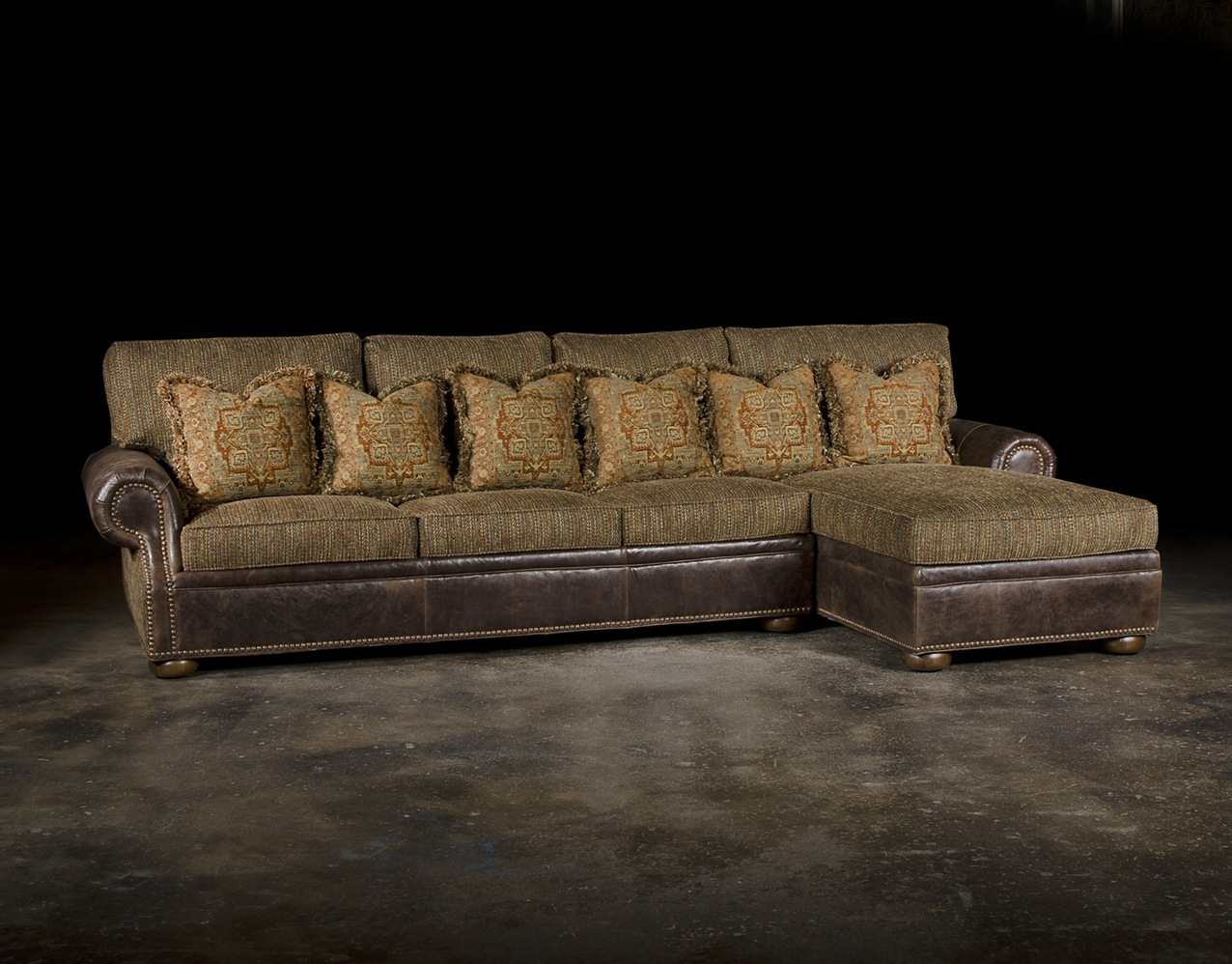 Luxury Sectional With Chaise Grand Sofa