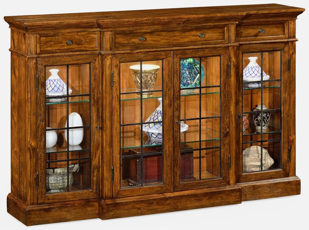 Nice Display Cabinets And Armories Elegantly Rustic Display Cabinet