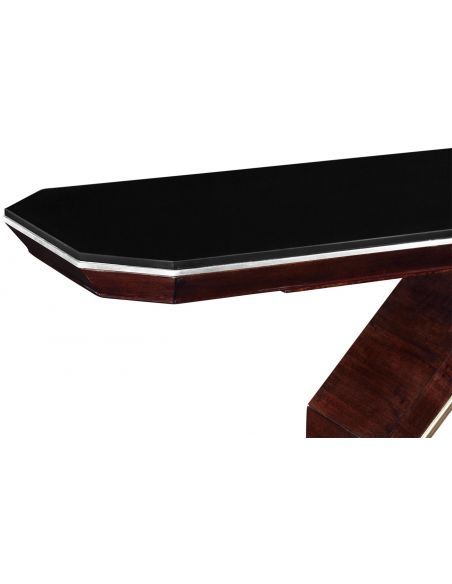 Console & Sofa Tables Black marble Console table