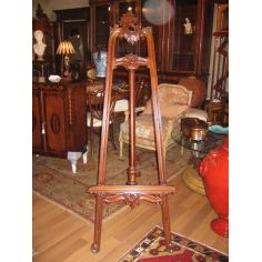 High Quality Furniture, Hand Carved Mahogany Easel