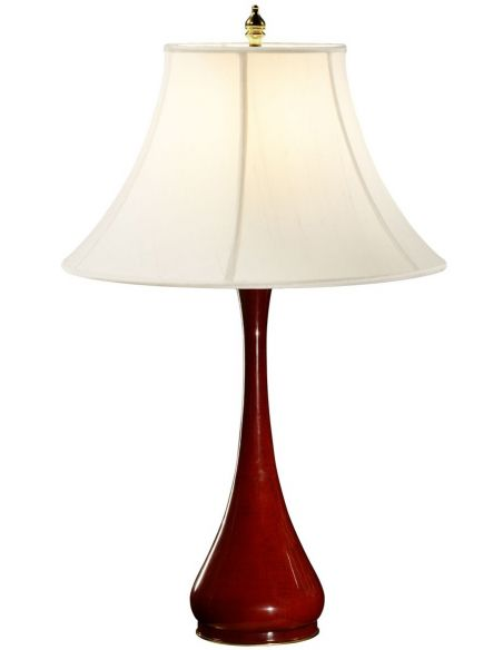 Table Lamps Lacquered table lamp