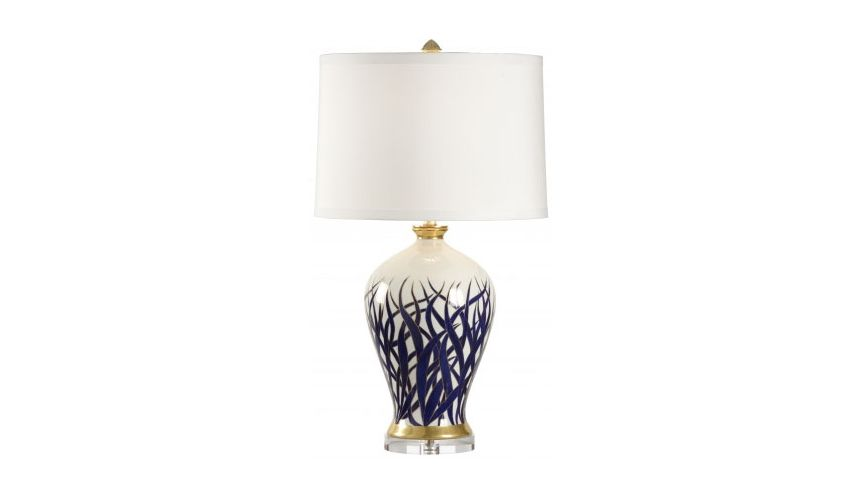 Decorative Accessories Hand Painted Alexander Lamp