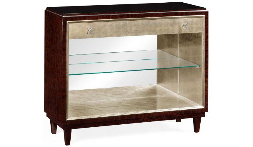 Breakfronts & China Cabinets Eucalyptus Figured Sideboard