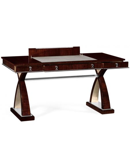 Executive Desks Contemporary eucalyptus desk