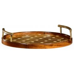 Circular polka dot tray different 2